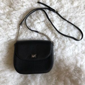 Micheal Kors black mini crossbody